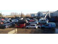 WANTED all scrap cars,vans,4x4s