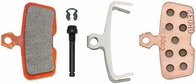 SRAM Pastillas Frenos - Sinterizadas Acero Respaldo, Potente Para Código 2011+ &