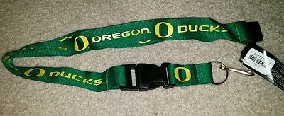 NCAA Oregon Ducks Green Breakaway Lanyard Keychain NWT Free Shipping (Oregon Ducks Lanyard)