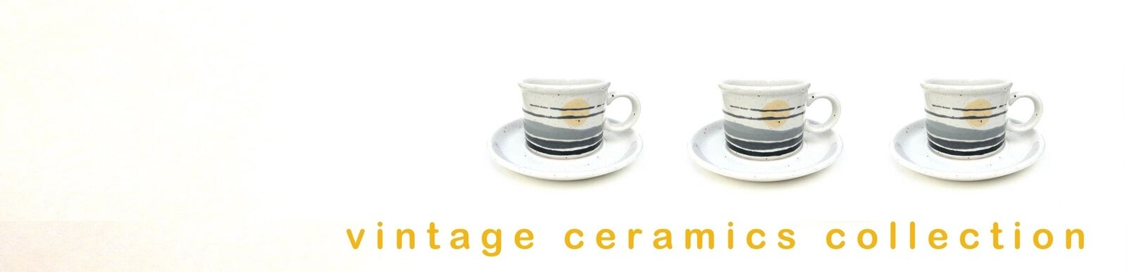 vintage ceramics collection