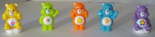 Care Bears Set of Five Bears: Champ, Do Your Best, Laugh-A-Lot, Birthday, and Ha