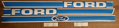 Tractor Decal Set - Ford 1510 Tractor Hood Decal Set Quality Vinyl