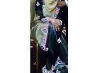 Party wear sari