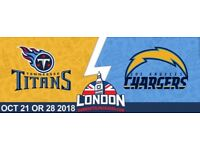 Tennessee titans vs los angeles chargers x6 tickets