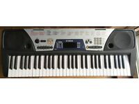 YAMAHA PSR-175 MIDI SYNTHESISER ELECTRIC KEYBOARD ELECTRONIC KEYBOARD 61 Full size keys