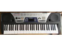 YAMAHA EZ150 MIDI Sustain SYNTHESISER ELECTRIC ELECTRONIC KEYBOARD 61 Full size lighted keys