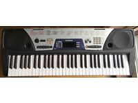 YAMAHA EZ150 MIDI Sustain SYNTHESISER ELECTRIC ELECTRONIC KEYBOARD 61 Full size lighted keys