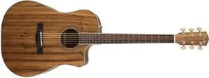 guitare acoustique-électrique Fender CD-220CE All Zebrano, Natural 0961504021 VENTE DÉSTOCKAGE