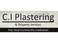 C I plastering and property services