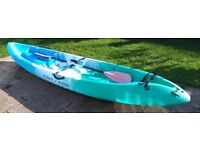 Malibu Two, 2 Person Kayak Solid NOT INFLATABLE