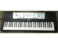 Yamaha PSR e203 MIDI Sustain SYNTHESISER ELECTRIC KEYBOARD ELECTRONIC KEYBOARD 61 Full size keys