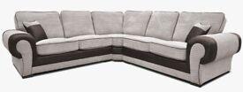 💞💞High Quality Brand NEW TANGO JUMBO CORD CORNER SOFA With Home Delivery £599