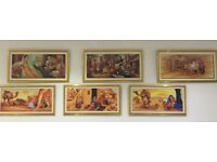 Painting Frames (Indian Folk) - Rarely Used. Very Good Condition.