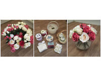 Wedding Table Centrepieces and Accessories