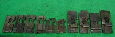 Lot Carbide Tipped 316 Micro Lathe Tool Bits Machinist Gunsmith Mini Sherline