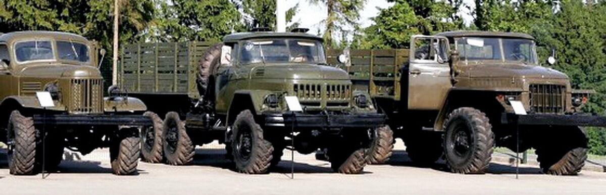 Soviet vehicles parts