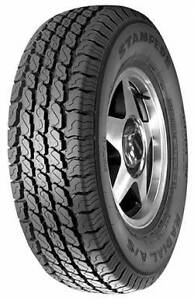 Set of 235/85/R16 10 Ply TBC Stampede Radial All-Season Tires.