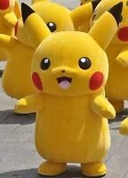 Pokemon Pikachu Mascot Costume for Rent