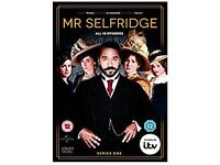 Mr Selfridge Series One DVD. Good condition. Only played once.