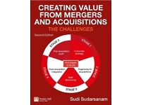Creating Value from Mergers and Acquisitions Paperback-Second Edition-Sudi Sudarsanam