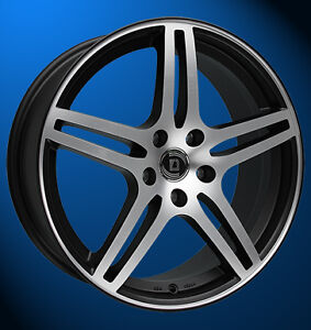 Diewe Wheels Chinque 7.5 X 18 5 X 112 45 black machined