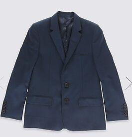 Boys Navy Suit (9-10yrs)