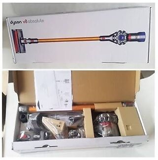 NEW Dyson V8 Absolute  Handstick & FREE 2 year guarantee