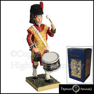 Tenor-Drummer-3rd-Battalion-The-Black-Watch-Figurine-Royal-Regiment-Of-Scotland