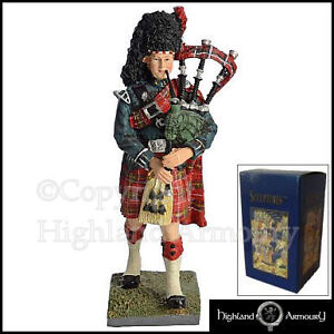 Piper-3rd-Battalion-The-Black-Watch-Figurine-Royal-Regiment-Of-Scotland-SCOTS