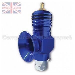 compbrake 25psi boost universal turbo diesel blow off valve dump valve blue. Black Bedroom Furniture Sets. Home Design Ideas