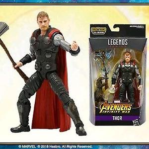 Marvel Legends Thor Infinity War BAF Cull Obsidian Nww