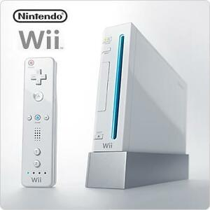 Wii Gaming Console & Accessories - Used Just Once - Like New!