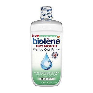 Biotene Dry Mouth Gentle Oral Rinse, Mild Mint, 16 fl oz