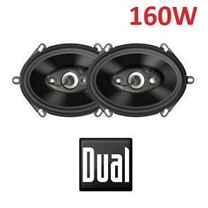 "NEW DUAL 4-WAY CAR SPEAKERS 4-Way 6""x8""/5""x7"" Multi-fit speaker - Max Power: 125W / RMS: 35W 105958880"