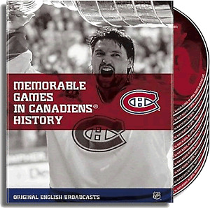 Memorable Games in Canadiens History - Box Set, 10 DVDs