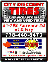 We Buy, Sell and Trade, TIRES