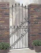 Tall Metal Gates