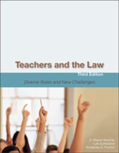 Teachers and the Law UNB Education Text