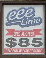 Limo Service,Black Car,Taxi Cab, Hamilton to Pearson Airport $85