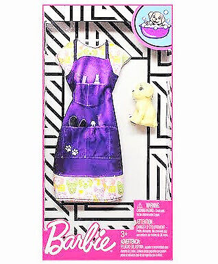 Barbie Fashion Pack Pet Groomer Outfit and Puppy Dog