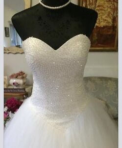 Deb or wedding crystal dress made to order most sizes Vermont Whitehorse Area Preview