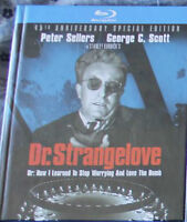 Dr. Strangelove Or: How I learned to Stop Worrying....Blu Ray