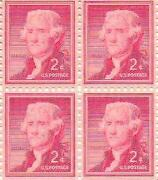 Jefferson 2 Cent Stamp