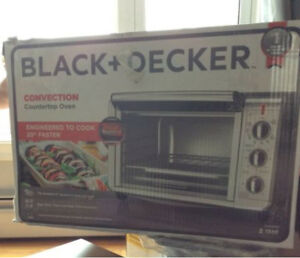 New Countertop convection oven