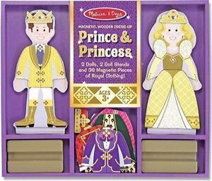 Brand New - Melissa & Doug Prince & Princess Magnetic Dress Up