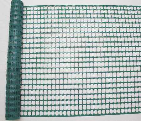 Zoro Select 33L956 Snow Fence, 4Ft. H, 50 Ft. L, Green