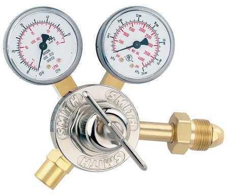 MILLER ELECTRIC 31-50-580 Flow Gauge Reg,Cylinder,Ar,CGA-580
