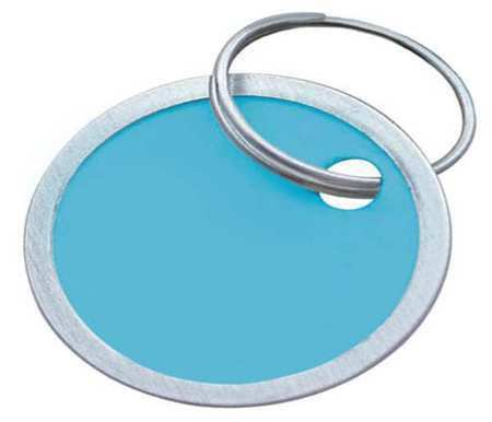 Lucky Line Products 28529 Key Tag,Metal-Rimmed Ring,Pk25