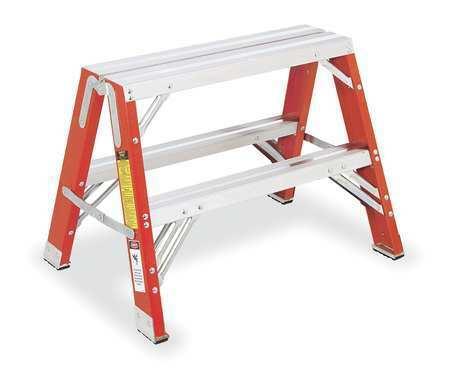 Werner Tw6202 2 Steps, Fiberglass Step Stand, 300 Lb. Load Capacity,