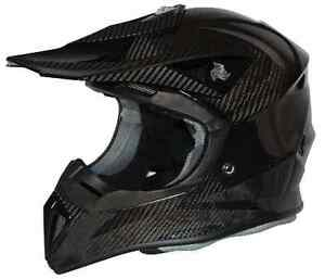 Riot Carbon-Lite MX Motocross Dirt Bike Helmet Brand New